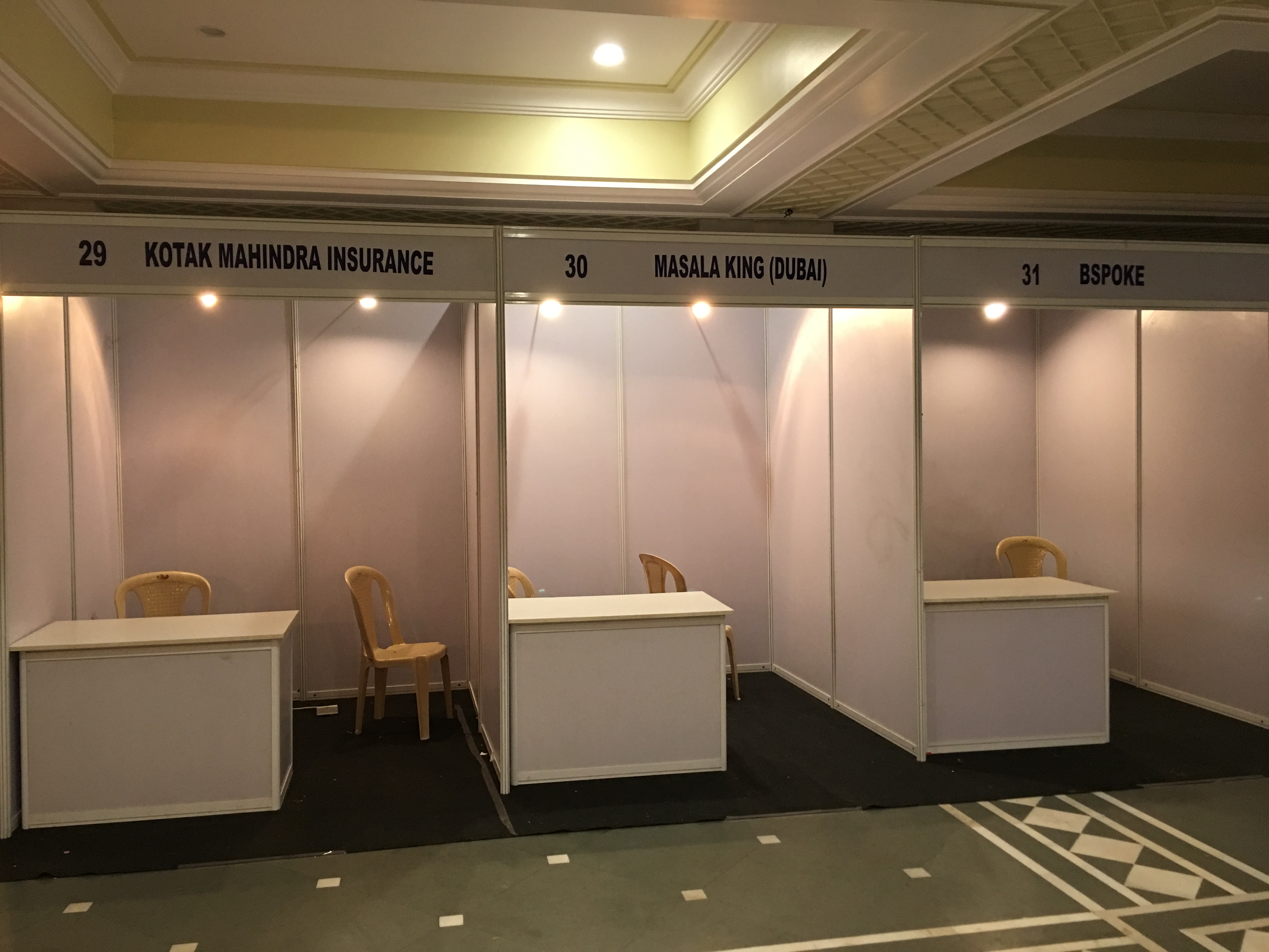 Octonorm Stall